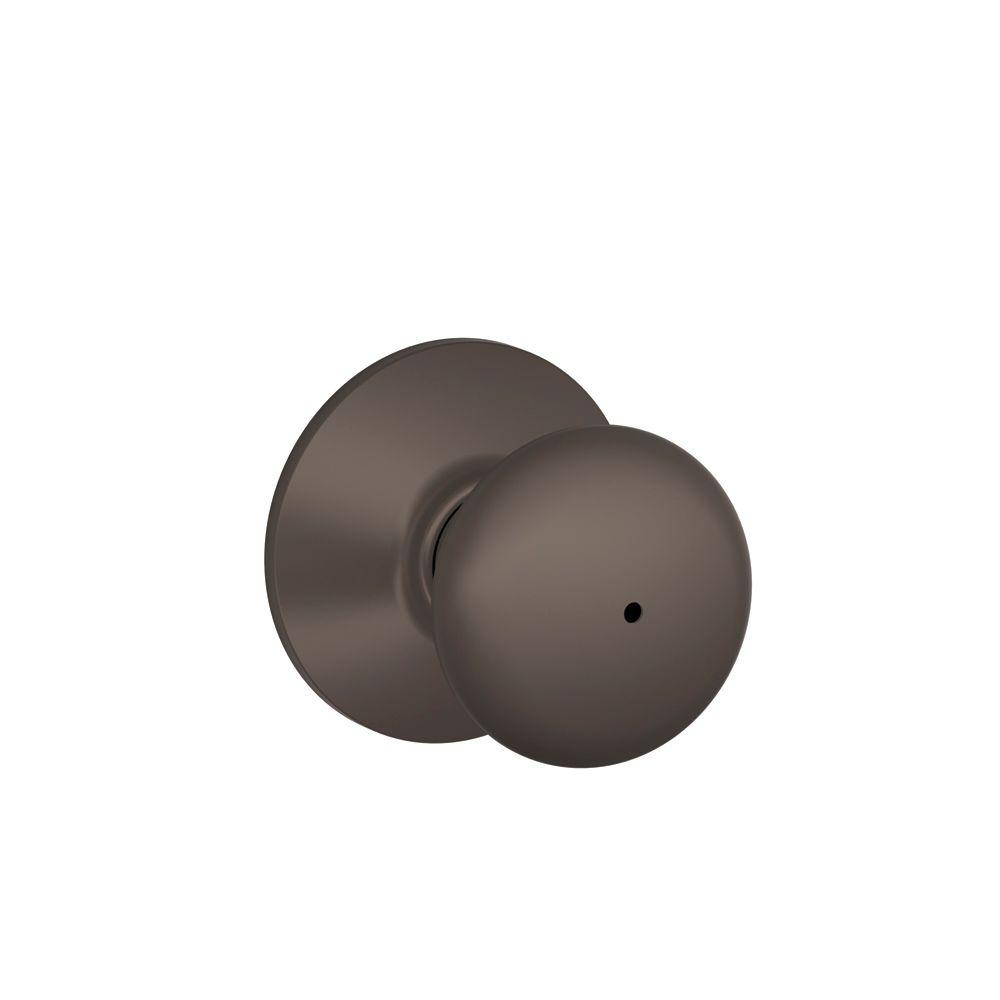 Schlage Plymouth Oil-Rubbed Bronze Bed and Bath Knob