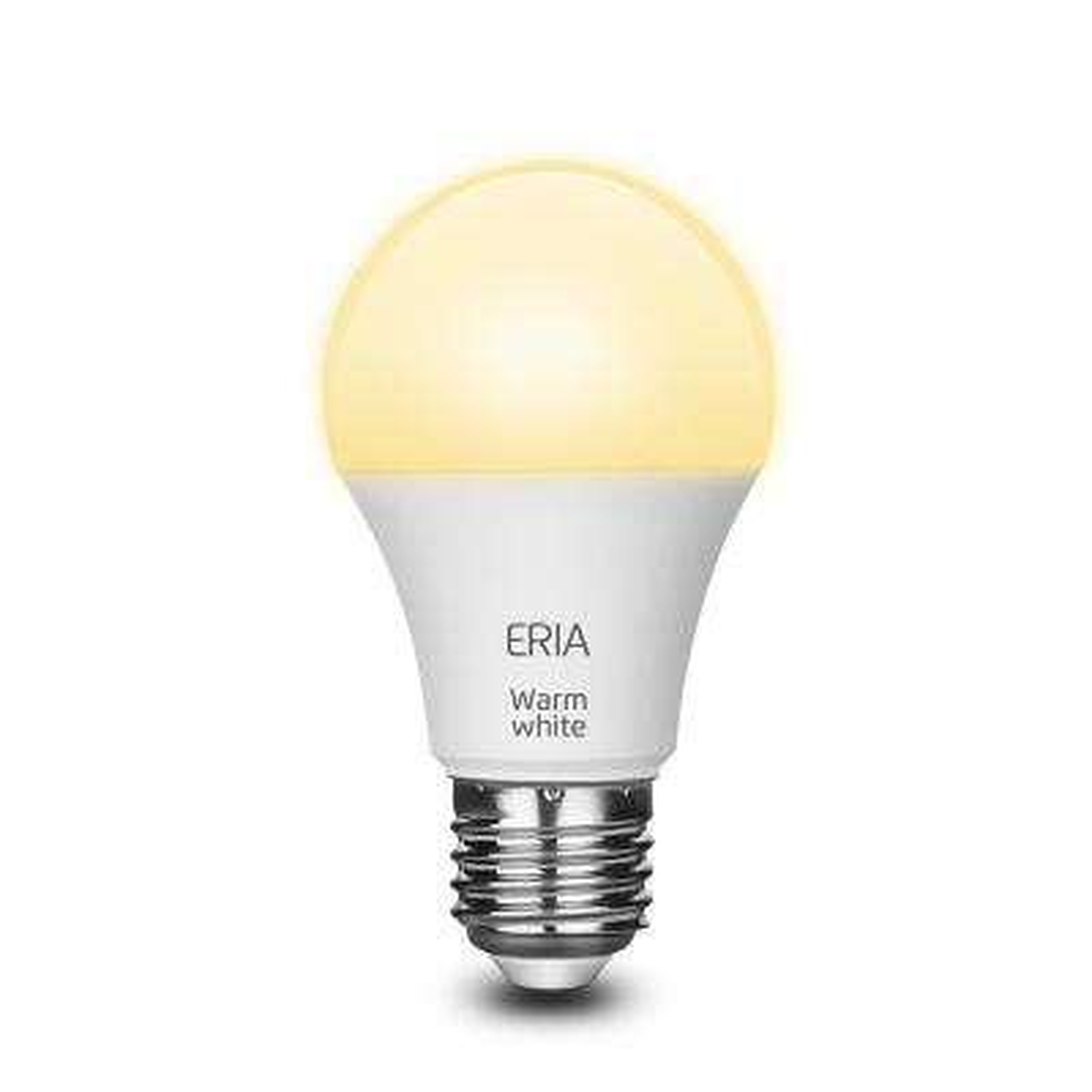 ERIA 60-Watt Equivalent A19 Dimmable CRI 90+ Wireless Smart LED Light Bulb Soft White