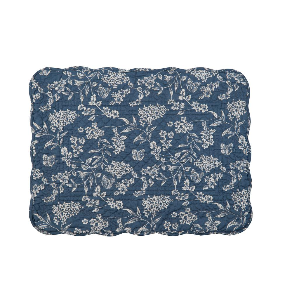 Blue Skylar Quilted Placemat (Set of 6)
