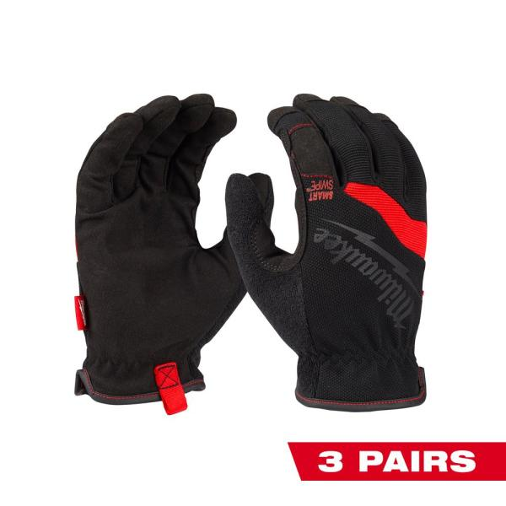 Large FreeFlex Work Gloves (3-Pack)