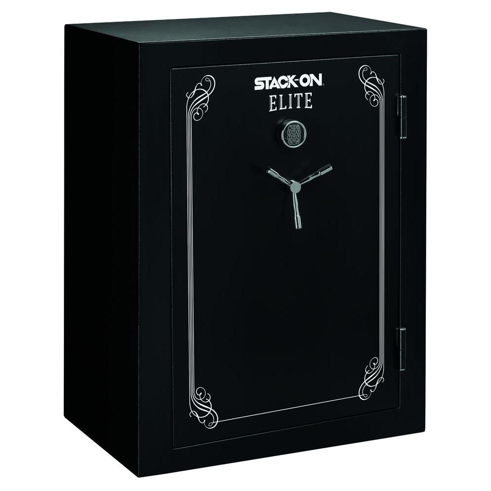69-Gun Fire Resistant Electronic Lock Safe, Matte Black