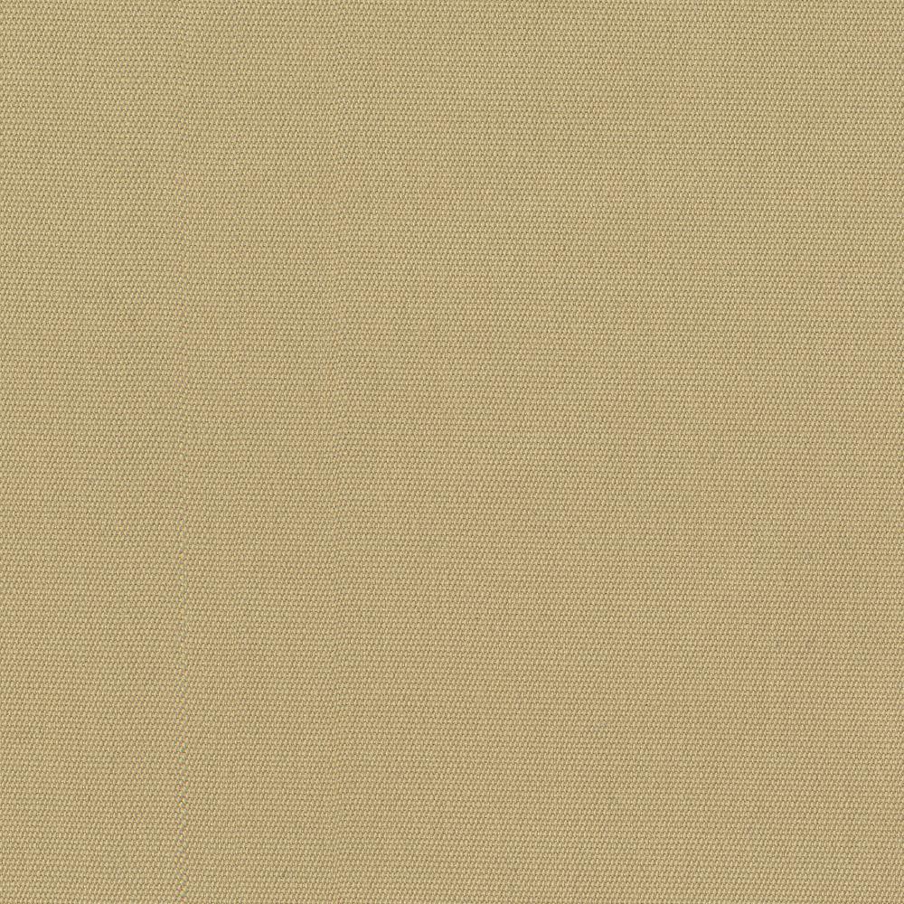 Edington Sunbrella Canvas Antique Beige Patio Ottoman Slipcover (2-Pack)