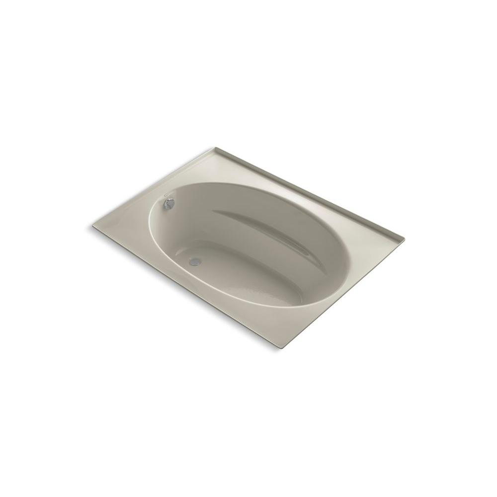 KOHLER Windward 5 ft. Reversible Drain Soaking Tub in Sandbar