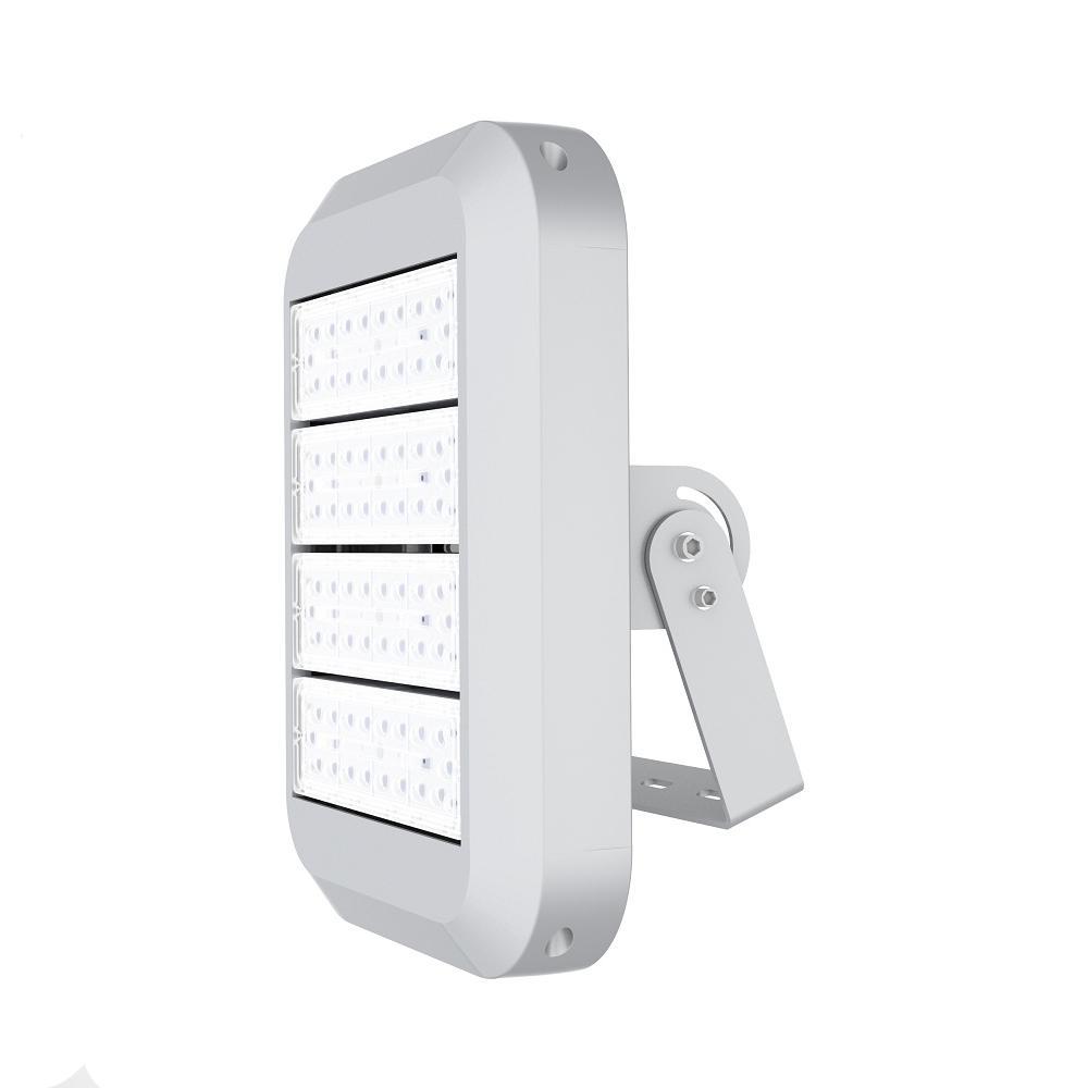 200-Watt Waterproof (IP67) Silver Integrated LED 5700K Outdoor Landscape Flood Light