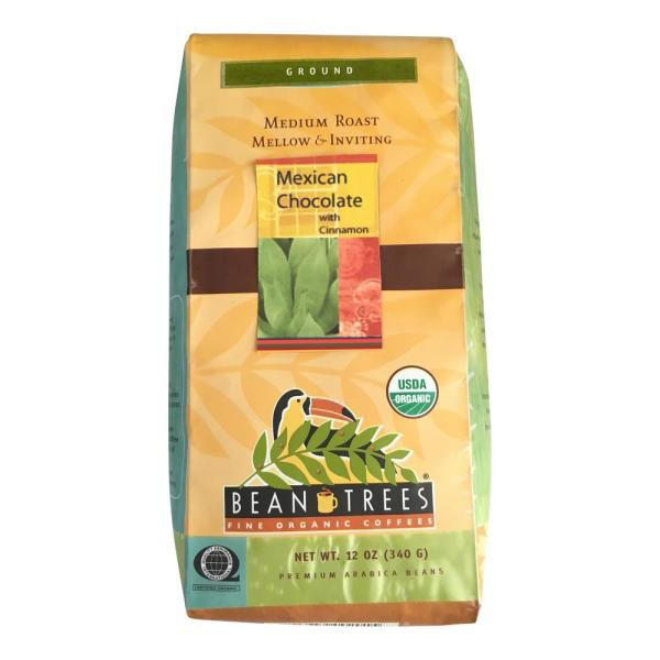 Bean Trees 12 oz. Mexican Chocolate Coffee Ground (3-Bags) 1483651