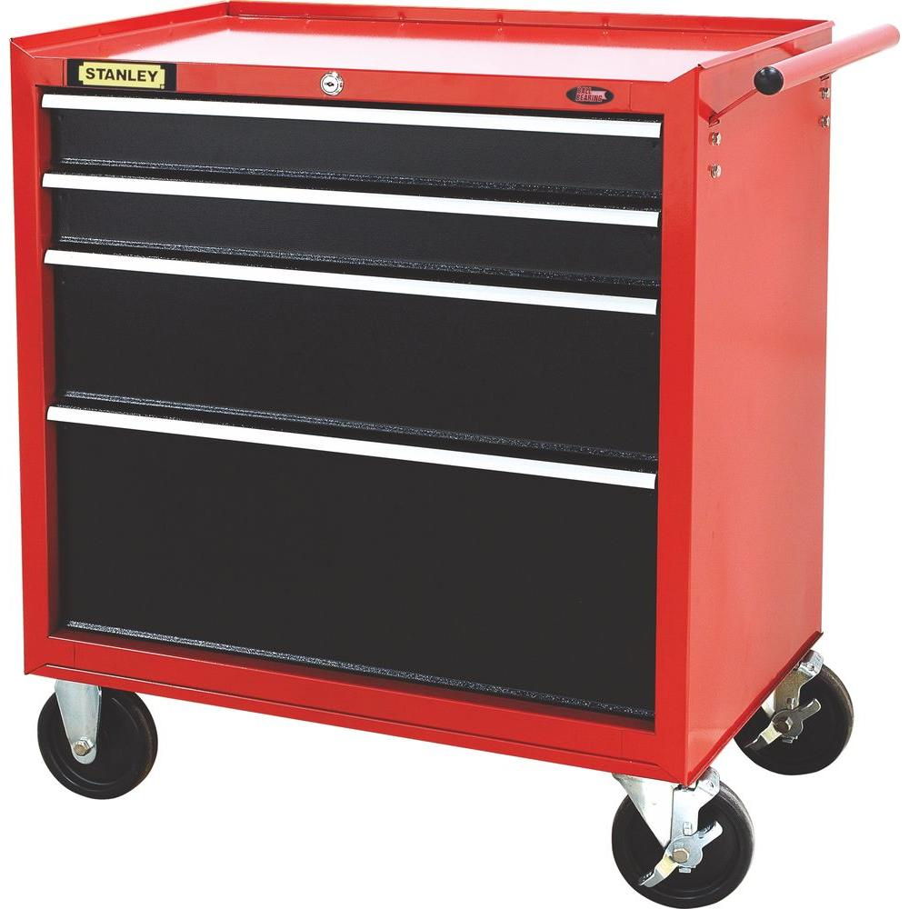 Stanley 27 in. W 4-Drawer Tool Cabinet