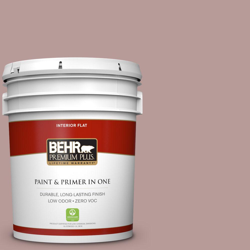 BEHR Premium Plus 5-gal. #710B-4 Quiet Refuge Zero VOC Flat Interior Paint