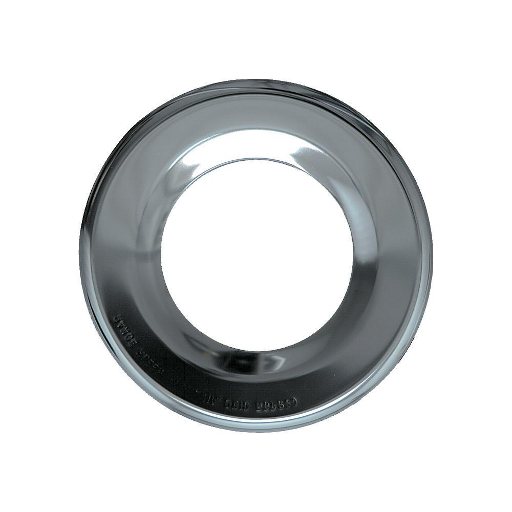 6.875 in. Gas Drip Pan in Chrome