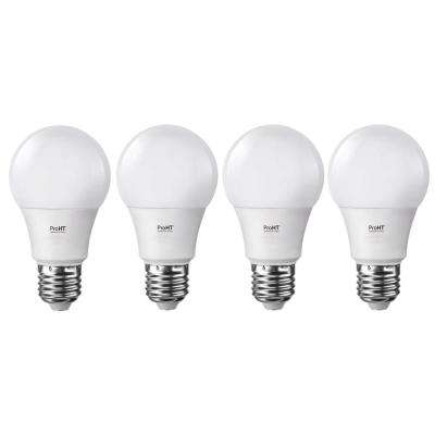 60-Watt Equivalent Soft White Dimmable E26 LED Replacement Light Bulb (4-Pack)