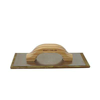 12 in. x 4 in. Non-Porous Grout Float with Wood Handle