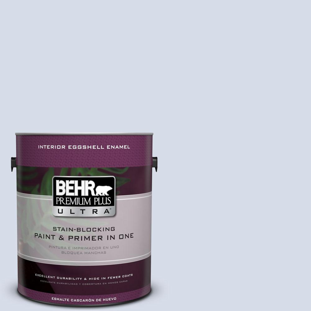 BEHR Premium Plus Ultra 1-gal. #590E-2 Snow Ballet Eggshell Enamel Interior Paint