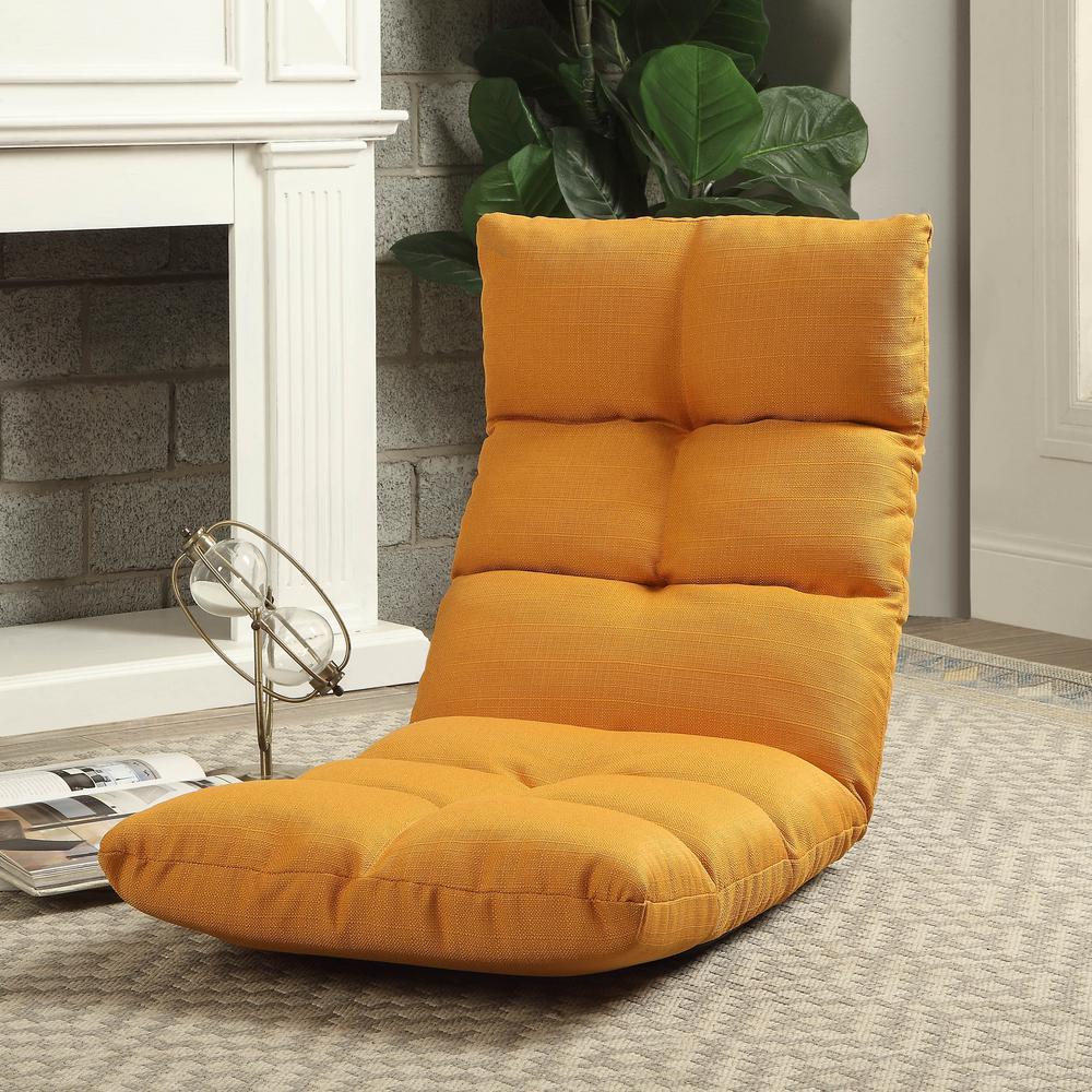 Orange Morris Gaming Floor Chair