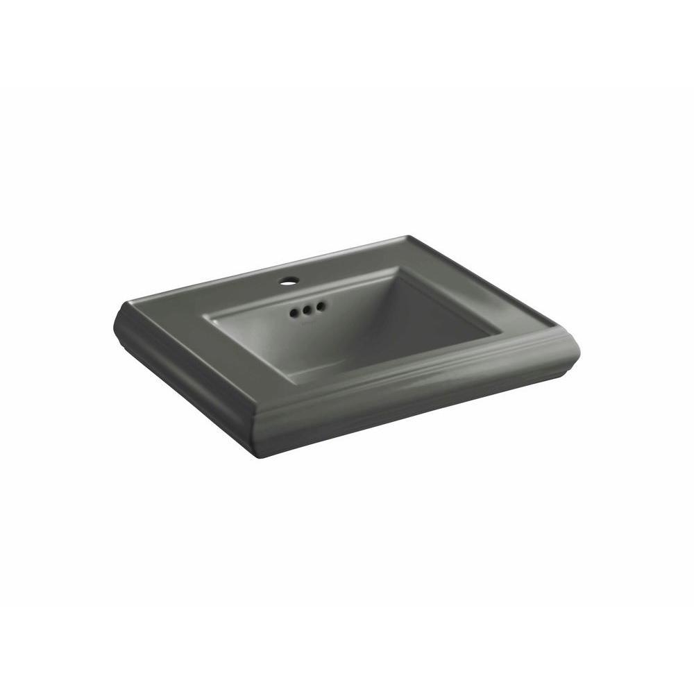 Kohler Memoirs 5 1 4 In Ceramic Pedestal Sink Basin In
