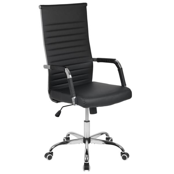 Carnegy Avenue Black LeatherSoft Executive Office Chair CGA-H-270076-BL-HD