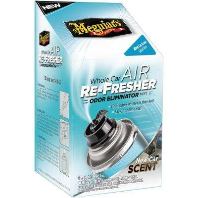 2.5 oz. Whole Car Air Refresher Odor Eliminator (New Car Scent)