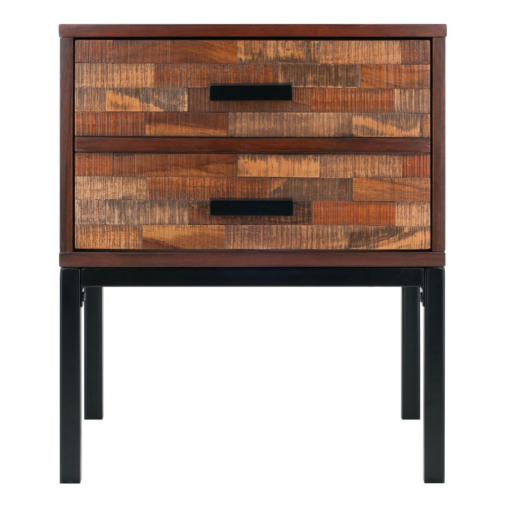 Winsome Nutmeg Finish Jefferson End Table
