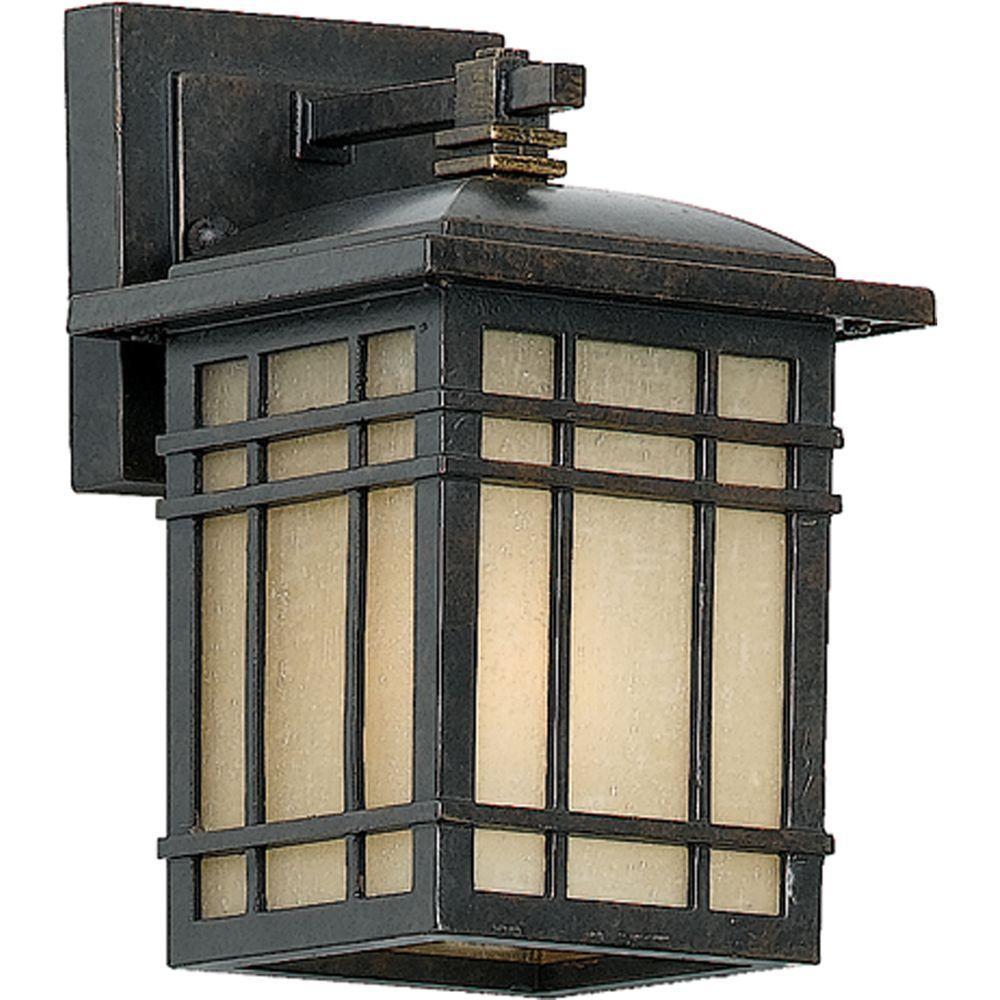 Filament Design Monroe 1-Light Imperial Bronze Outdoor Fluorescent Wall Lantern