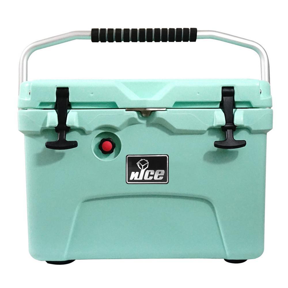 nICE 20 qt. Sea Foam Green Cooler