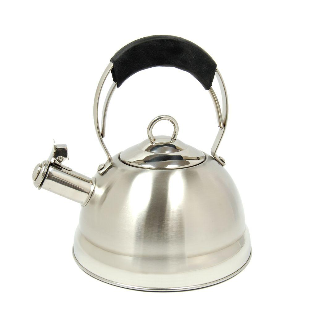 Creative Home Jupiter 10-Cup Tea Kettle in Stainless Steel-DISCONTINUED