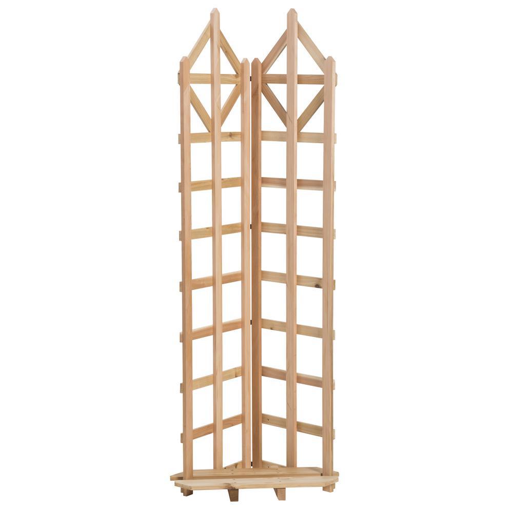 Exceptionnel Cedar Freestanding Trellis