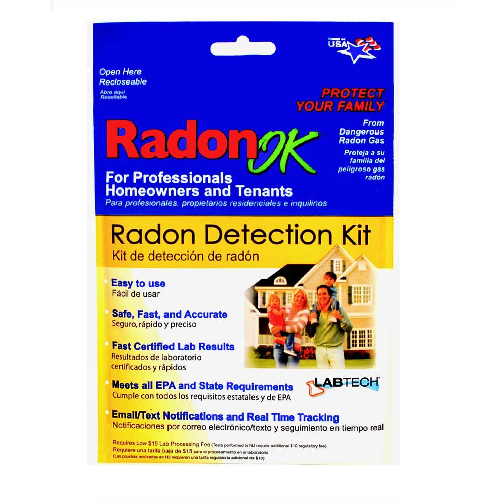 Radon Detection Test Kit