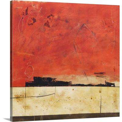 """Red Night II"" by Jaime Watson Canvas Wall Art"