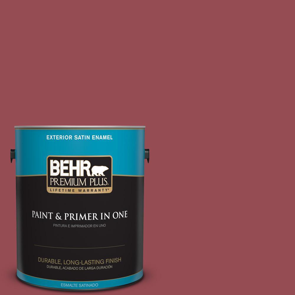 1 gal. #PPU1-11 Crantini Satin Enamel Exterior Paint