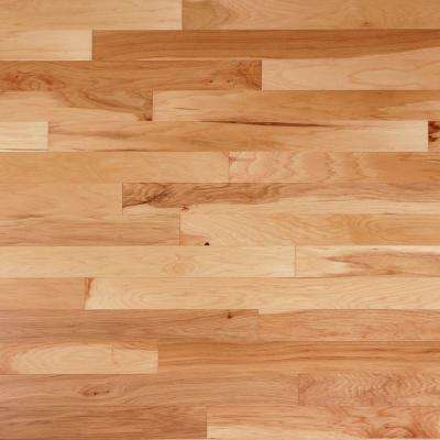 Hickory Natural 3/8 in. Thick x 6-1/4 in. Wide x Varying Length Engineered Click Hardwood Flooring (32.2 sq. ft. / case)