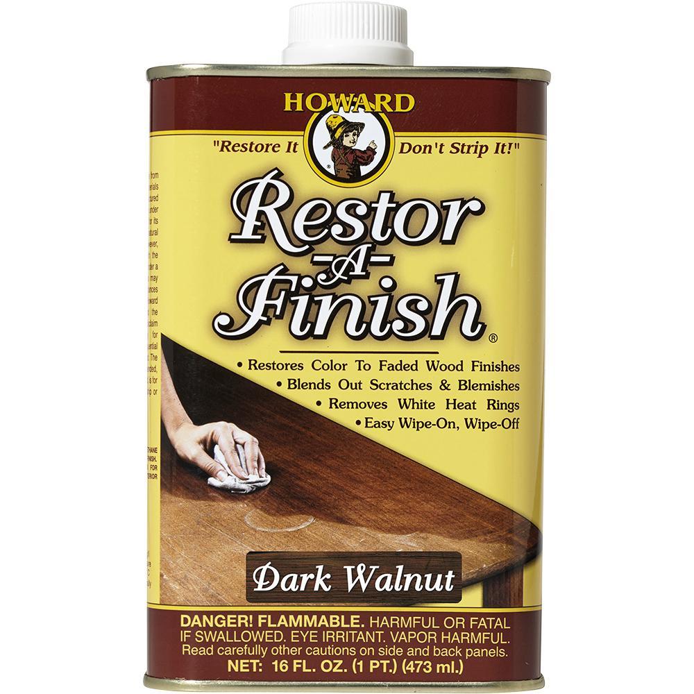 Howard 16 oz. Dark Walnut Wood Finish Restorer