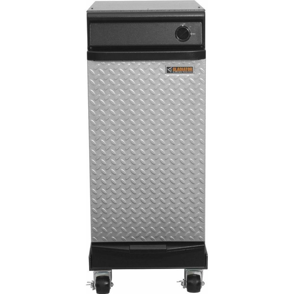 Gladiator 15 in. Freestanding Trash Compactor in Hammered Granite