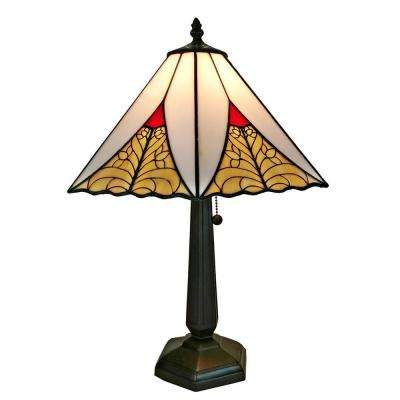 20 in. Multicolored Table Lamp