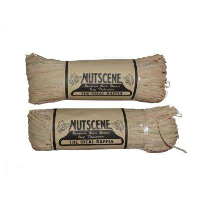 300 ft. Natural Raffia Twine (2-Pack)