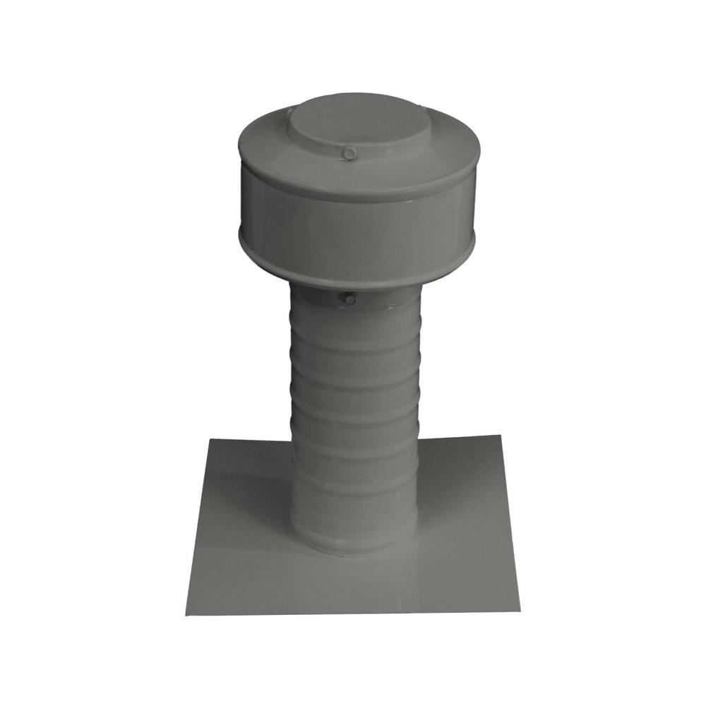 Keepa Vent 3 in. Dia Aluminum Roof Vent for Flat Roofs