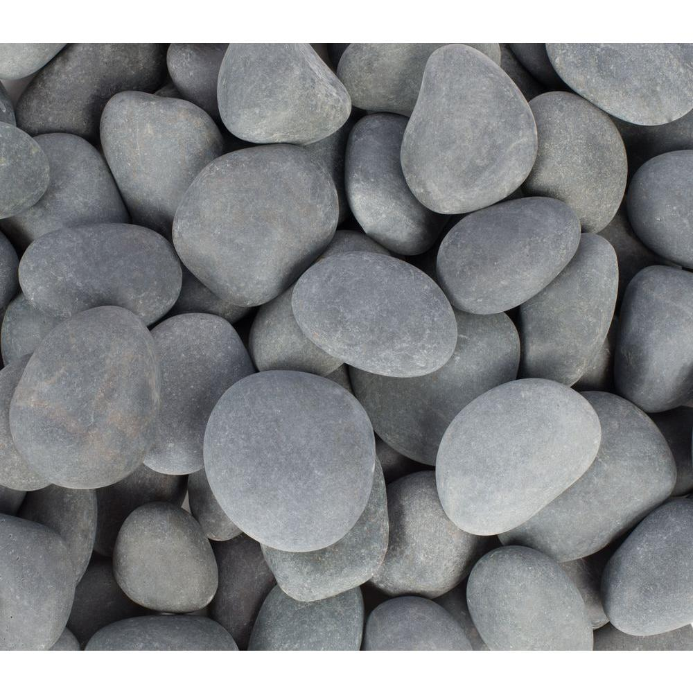1 in. to 3 in., 2200 lb. Mexican Beach Pebbles Super