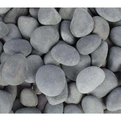 1 in. to 3 in., 30 lb. Mexican Beach Pebbles (30-Pack Pallet)