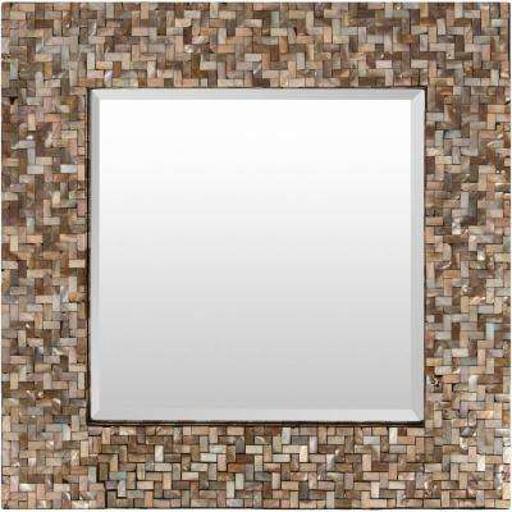 Orsino 23.6 in. x 23.6 in. MDF Framed Mirror