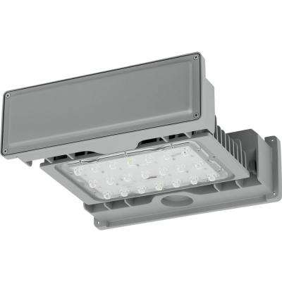PCOGS Collection 53-Watt Gray Integrated LED Area Light