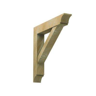 3-1/2 in. x 24 in. x 26 in. Polyurethane Timber Bracket