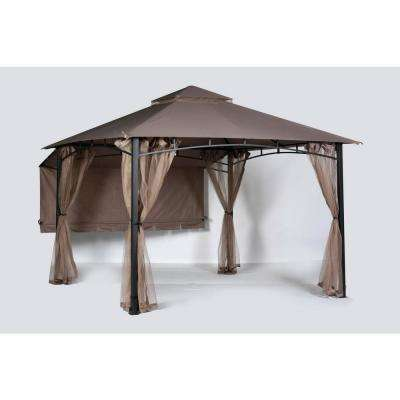 Shadow Hills 10 ft x 10 ft. Roof Style Garden House Canopy and Awning Only