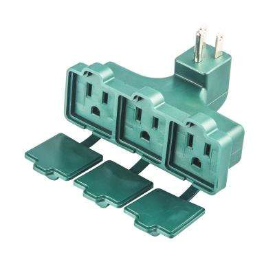 15 Amp Heavy-Duty Adapter with Protection Cover