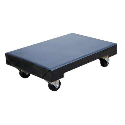 24 in. x 16 in. 900 lb. Vinyl Covered Hardwood Dolly