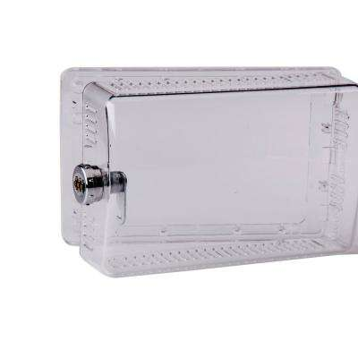 9-1/4 in. x 6 in. x 2-5/8 in. Keyless Combination Lock Thermostat Guard Cover, Clear (24-Pack)