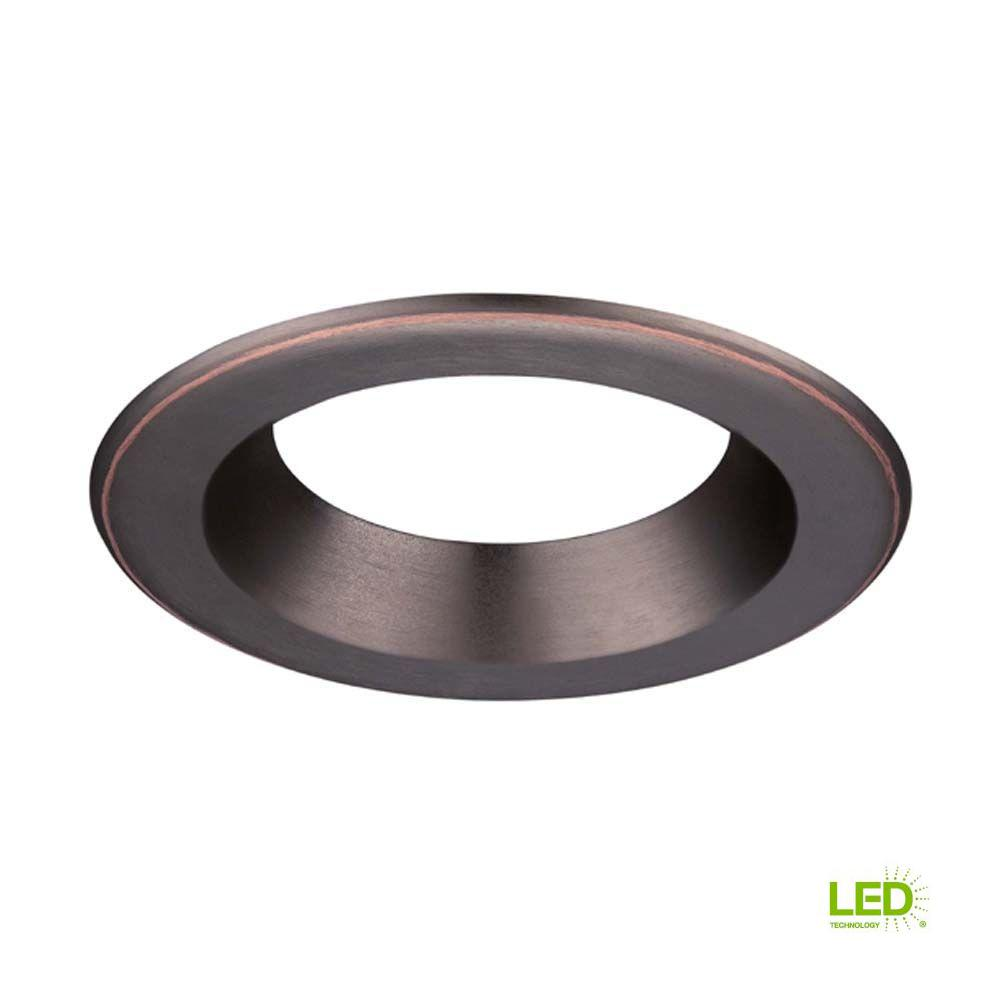 Decorative Bronze Trim Ring For Led Recessed Light With