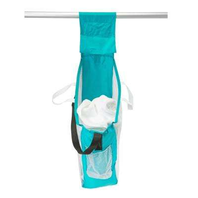 Collapsible Hanging 2-in-1 Laundry Bag