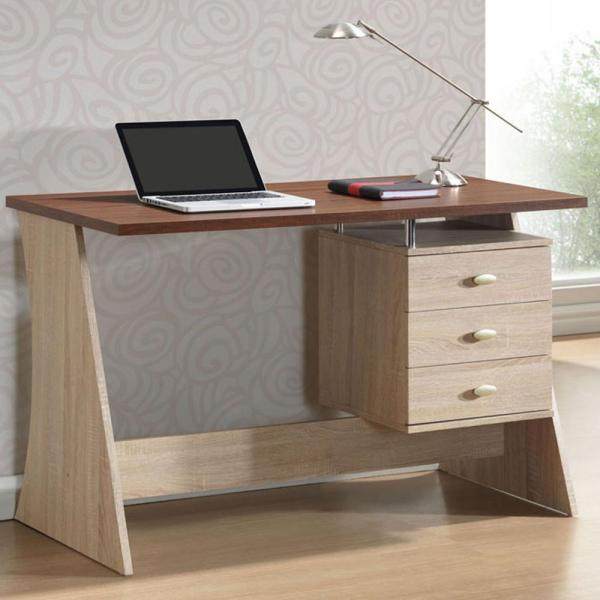 Baxton Studio Parallax Contemporary White Finished Wood Desk 28862-5434-HD