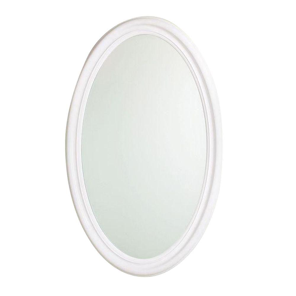 MAAX Evolution 20 in. x 30 in. Mirrored Recessed or Surface Mount Medicine Cabinet in White