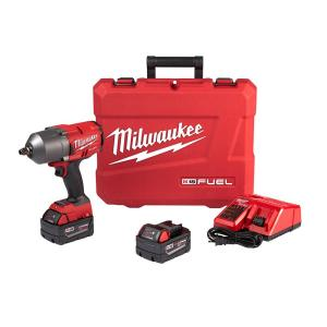 Milwaukee M18 FUEL 18-Volt Lithium-Ion Brushless Cordless 1/2 in. Impact Wrench W/ Friction Ring Kit
