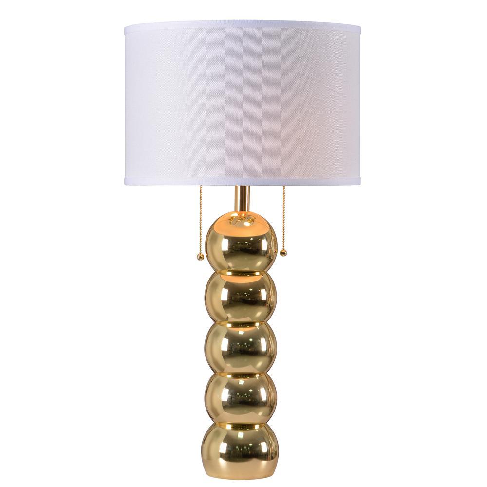 Kenroy Home Bolero 29 In. Gold Table Lamp