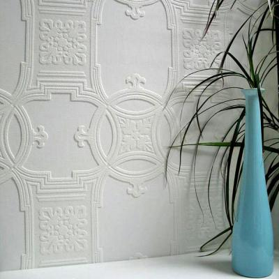 Early Victorian Paintable Textured Vinyl Strippable Wallpaper (Covers 57.5 sq. ft.)
