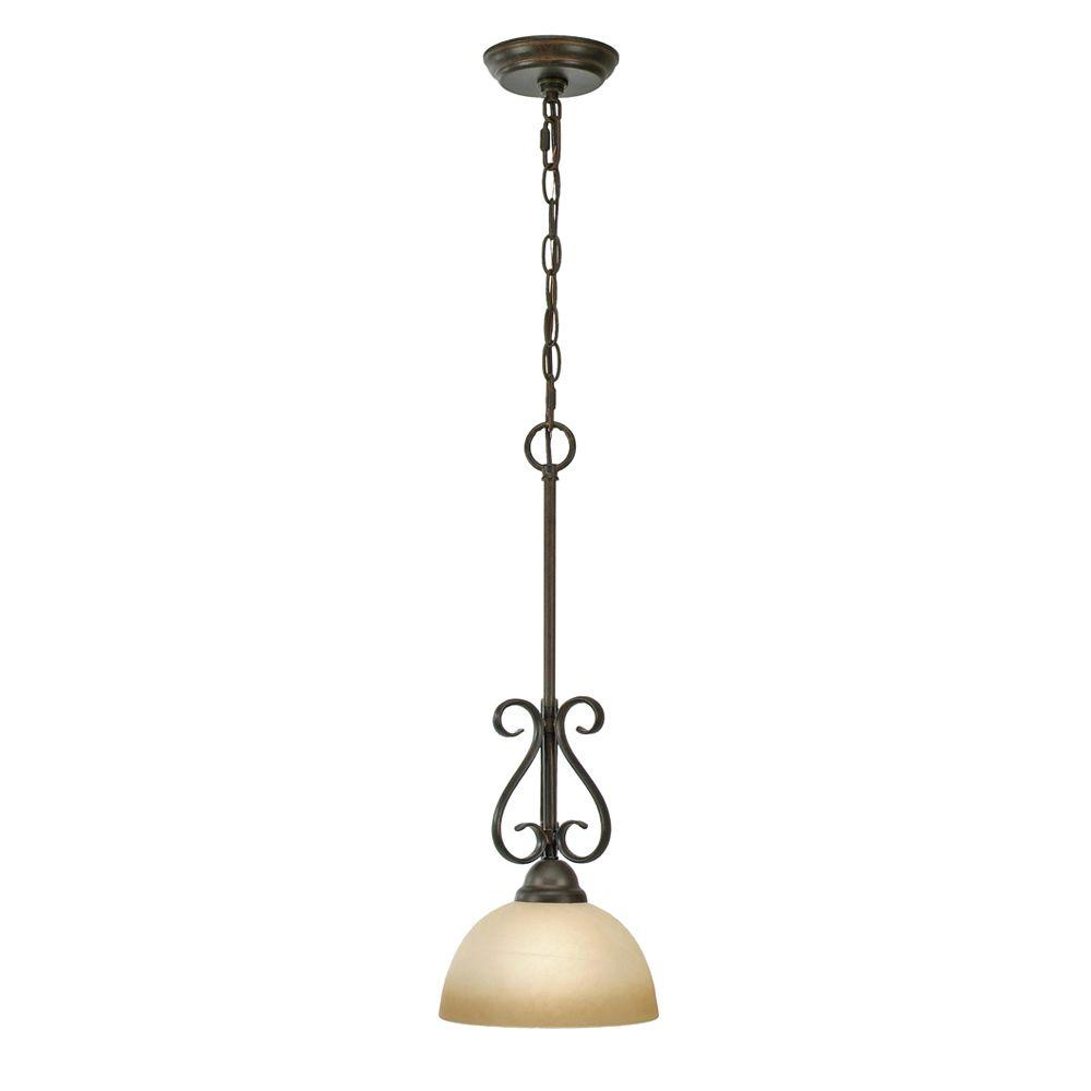 Myers Collection 1-Light Peppercorn Mini Pendant